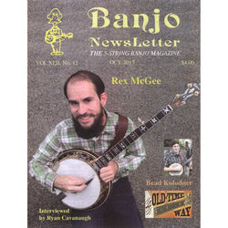 Banjo Newsletter October 2015 Vol. XLII, No. 12