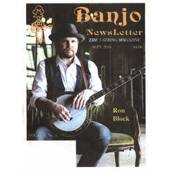 Banjo Newsletter September 2016 Vol. XLIII, No. 11