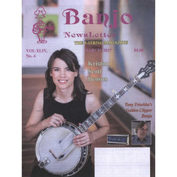 Banjo Newsletter March 2017 Vol. Xliv, No. 5