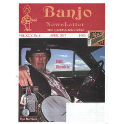 Banjo Newsletter April 2017 Vol. Xliv, No. 6