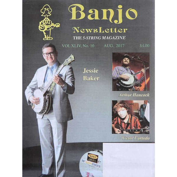 Banjo Newsletter August 2017 Vol. Xliv, No. 10