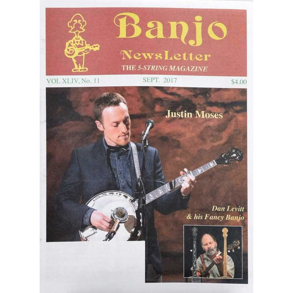 Banjo Newsletter September 2017 Vol. Xliv, No. 11
