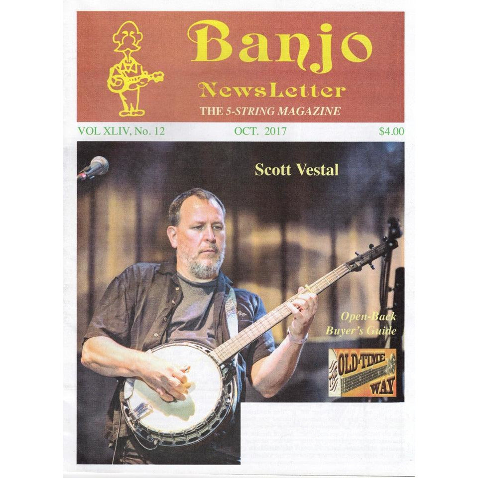 Banjo Newsletter October 2017 Vol  Xliv, No  12