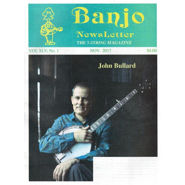 Banjo Newsletter November 2017 Vol. XLV, No. 1