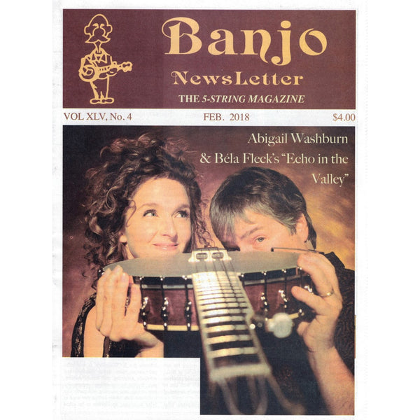 Banjo Newsletter February 2018 Vol. XLV, No. 4