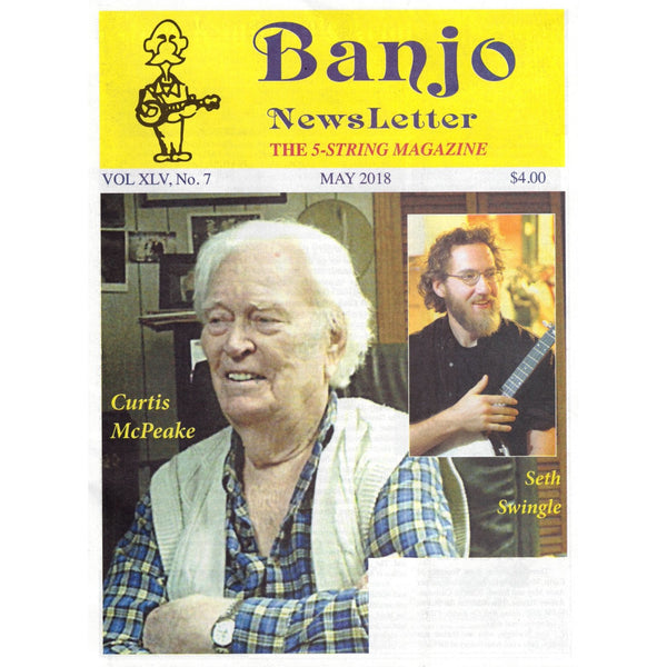 Banjo Newsletter - May 2018 Vol. XLV, No. 7