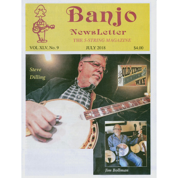Banjo Newsletter - July 2018 Vol. XLV, No. 9