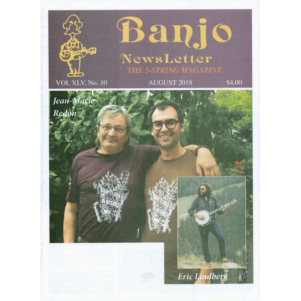 Banjo Newsletter - August 2018 Vol. XLV, No. 10