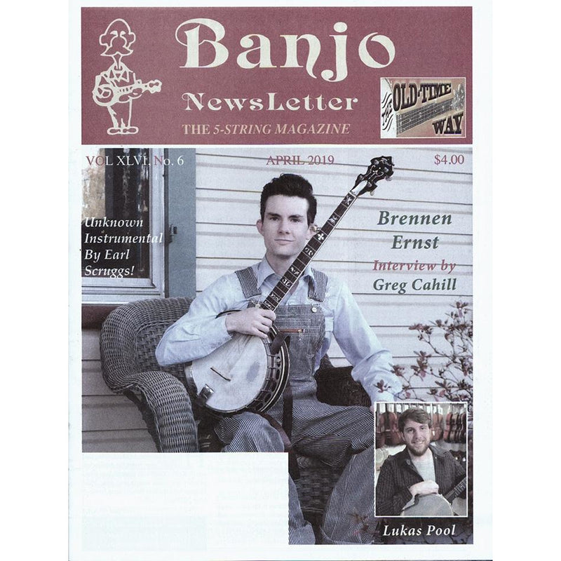 Banjo Newsletter April 2019 Vol. XLVI, No. 6