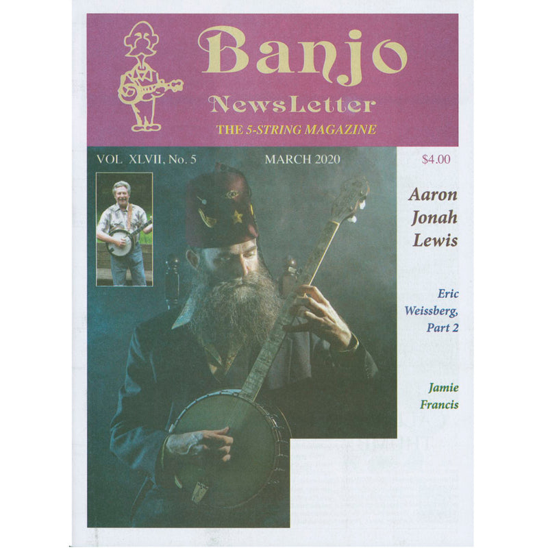 Banjo Newsletter - March 2020, Vol. XLVII, No. 5