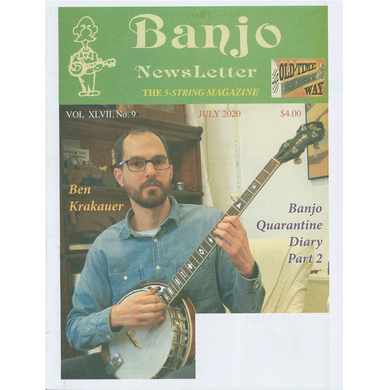 Banjo Newsletter - July 2020, Vol. XLVII, No. 9