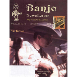 Banjo Newsletter October 2016 Vol. Xliii, No. 12