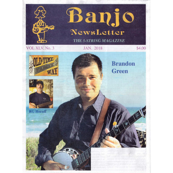 Banjo Newsletter January 2018 Vol. XLV, No. 3