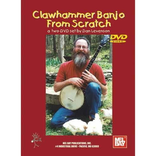 DVD - Clawhammer Banjo From Scratch, a 2-DVD Set