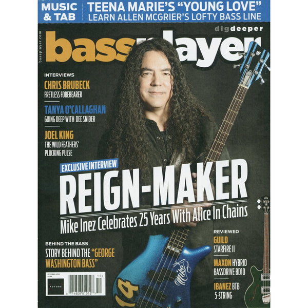 Bass Player Magazine - October 2018