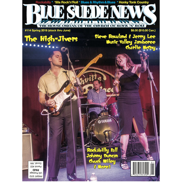 Blue Suede News - #114, Spring 2018