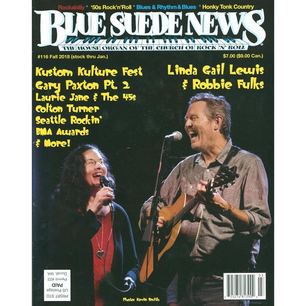 Blue Suede News - #116, Fall 2018
