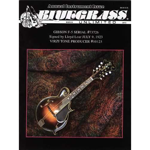 Bluegrass Unlimited March 2013