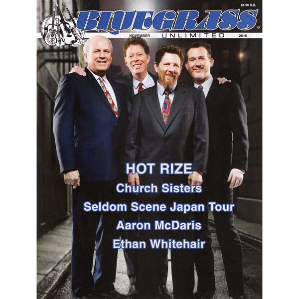 Bluegrass Unlimited November 2015