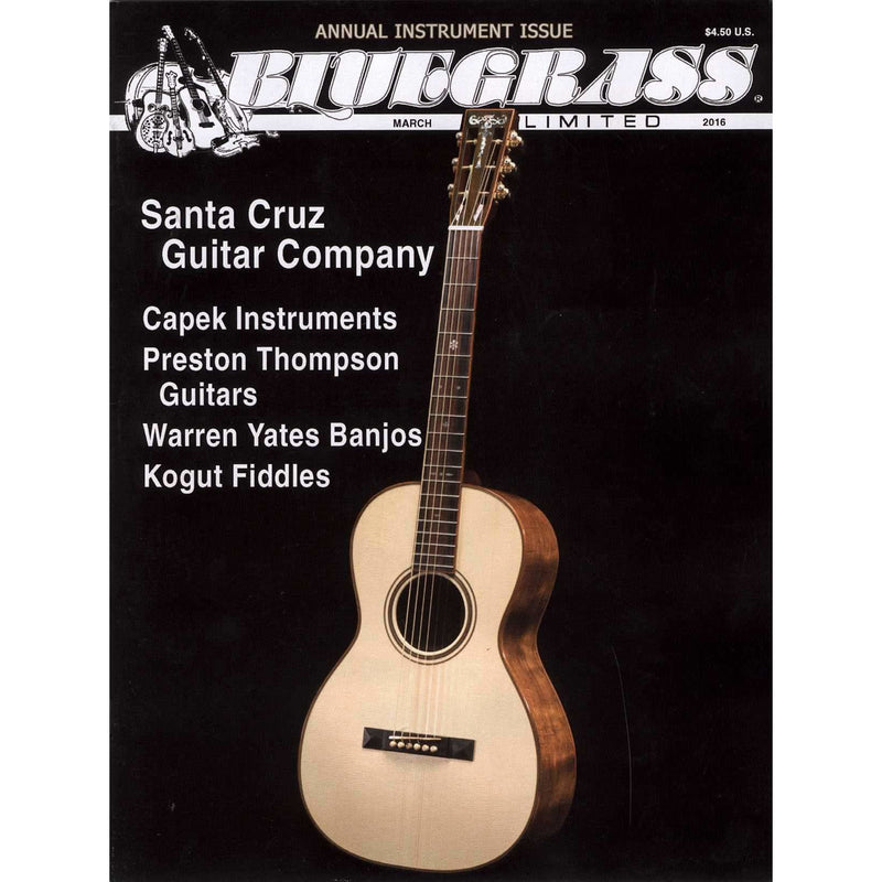 Bluegrass Unlimited March 2016