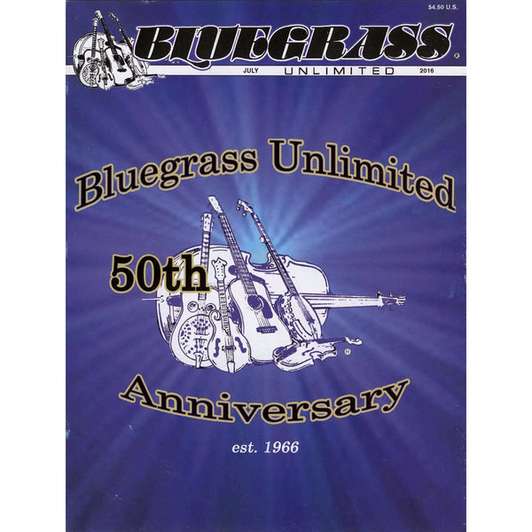 Bluegrass Unlimited July 2016