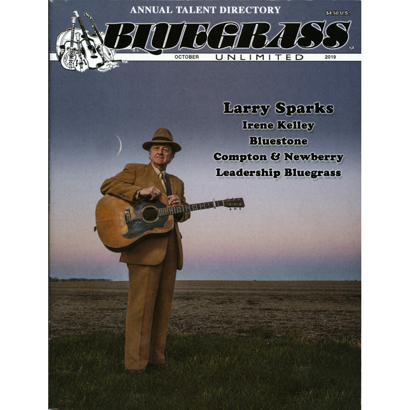 Bluegrass Unlimited October 2019