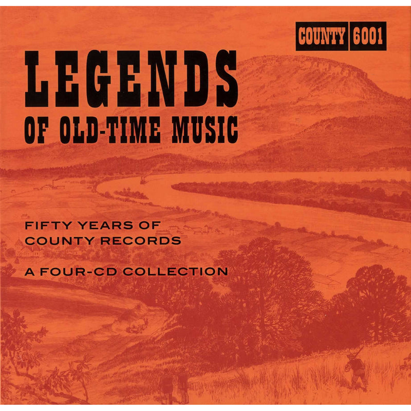 Legends of Old-Time Music: Fifty Years of County Records