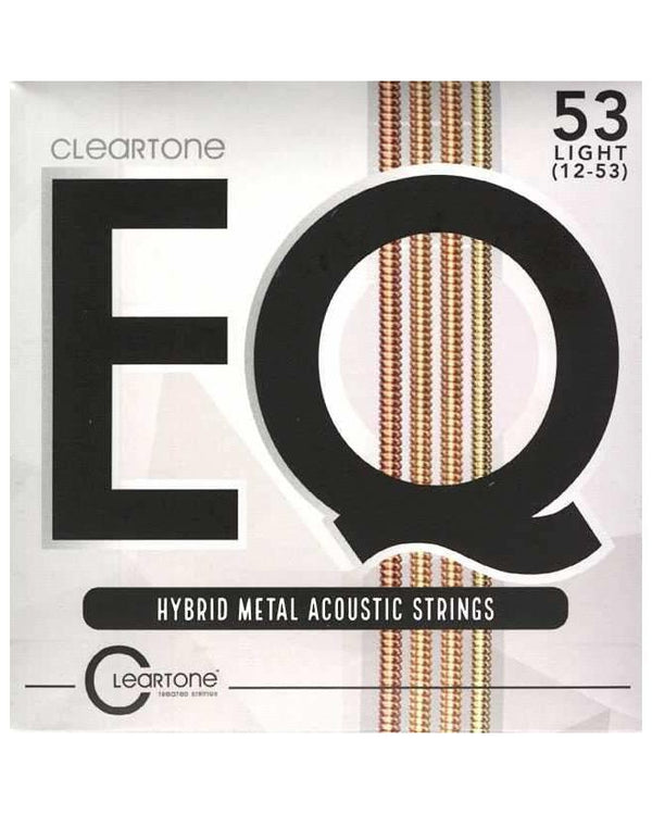 Cleartone Eq Hybrid Metal 6-String Light Acoustic Guitar Set