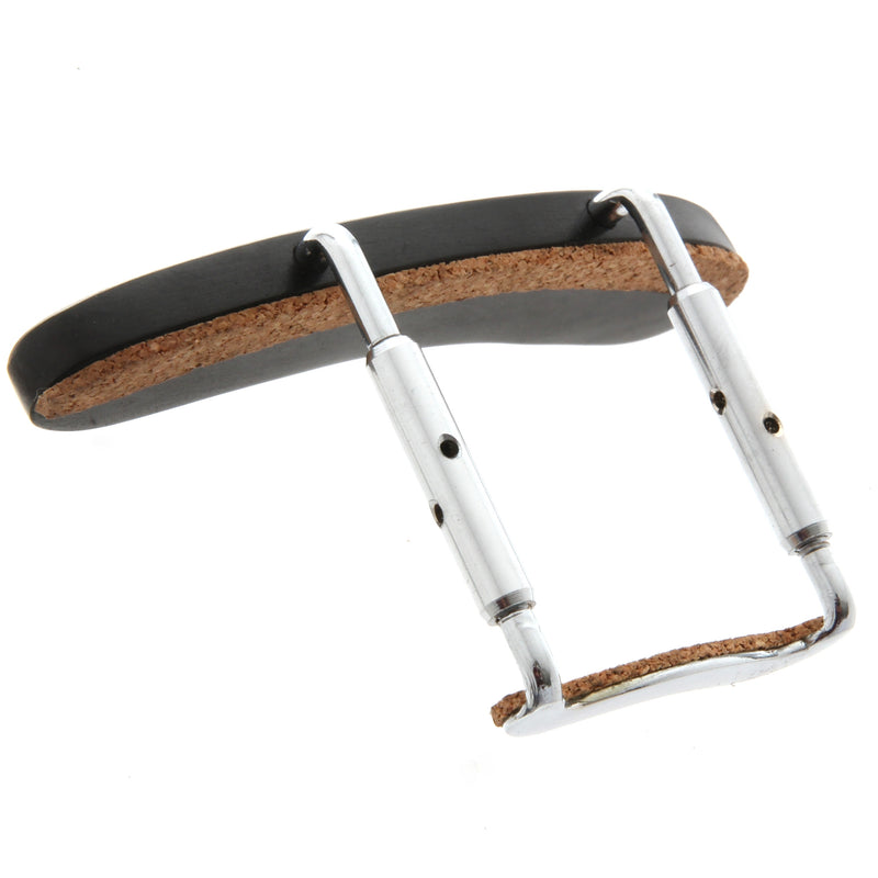 Mandolin Armrest, Ebony, Nickel Plated Clamp