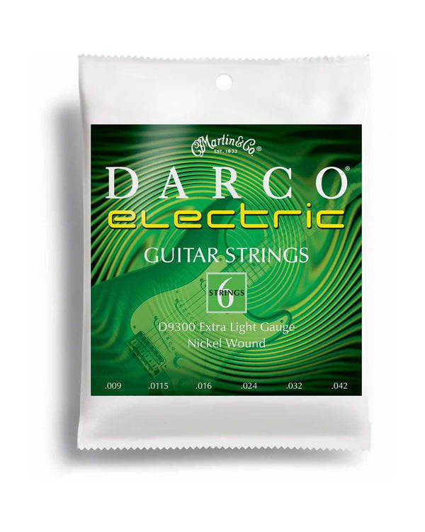 Darco D9300 Extra Light 6-String Electric Guitar Set