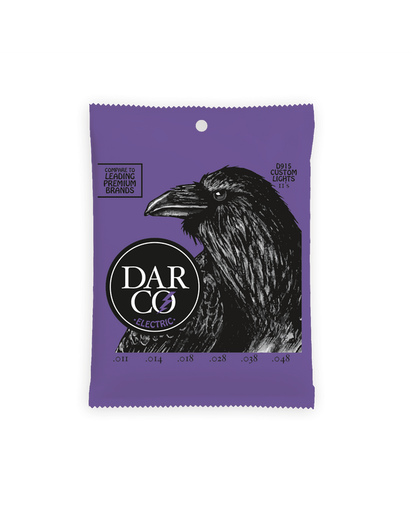 Darco D915 Custom Light Gauge Electric Guitar Strings