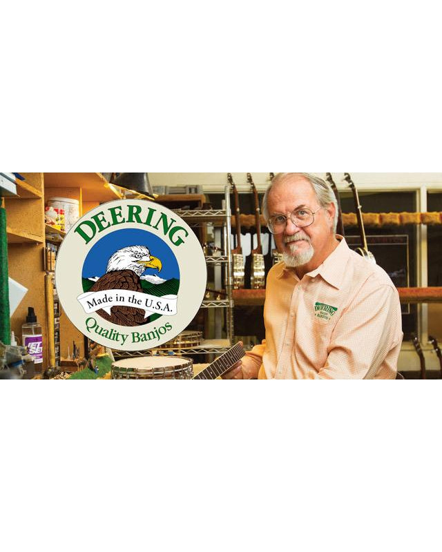 Meet the Maker: Greg Deering, Founder of Deering Banjo Company | Saturday February 22nd, 2pm-5pm FREE