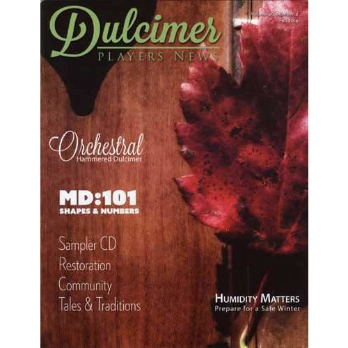 Dulcimer Players News Fall 2014 Vol. 40 No. 4