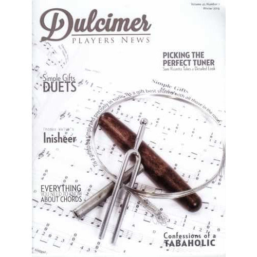 Dulcimer Players News Winter 2015 Vol. 41 No. 1