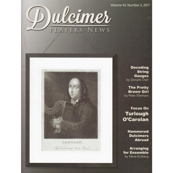 Dulcimer Players News October 2017 Vol. 43 No. 3