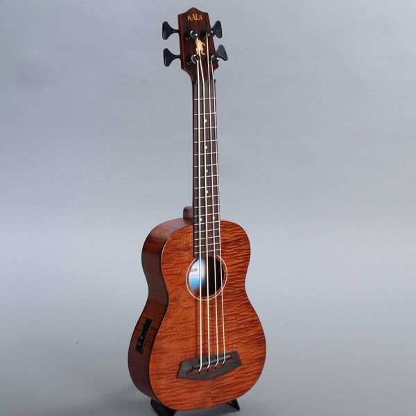 Kala Ubass Exotic Mahogany Fretted Mini-Bass with Roundwound Strings