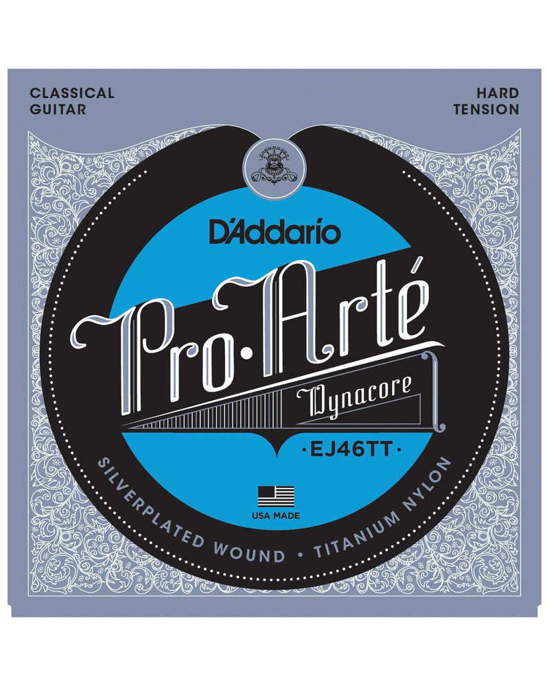 D'Addario EJ46TT Titanium Hard Tension Nylon Guitar Strings