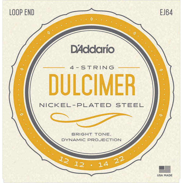 D'Addario EJ64 Nickel Wound Lap Dulcimer Strings