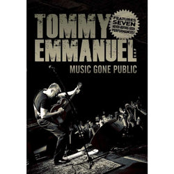 DVD - Tommy Emmanuel: Music Gone Public