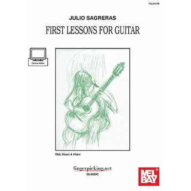 Julio Sagreras - First Lessons for Guitar