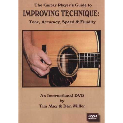 DVD-The Guitar Player's Guide to Improving Technique: Tone, Accuracy, Speed and Fluidity