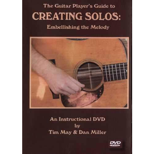 DVD-The Guitar Player's Guide to Creating Solos: Embellishing the Melody