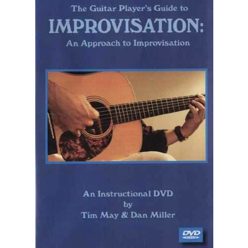 DVD-The Guitar Player's Guide to Improvisation: An Approach to Improvisation