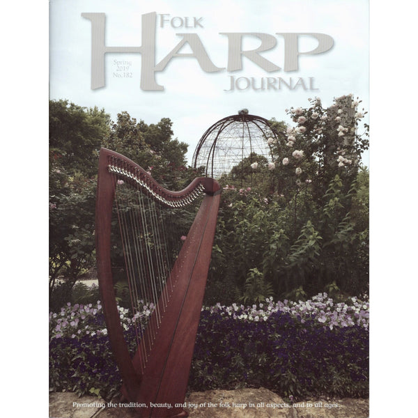 Folk Harp Journal Spring 2019 Issue No. 182