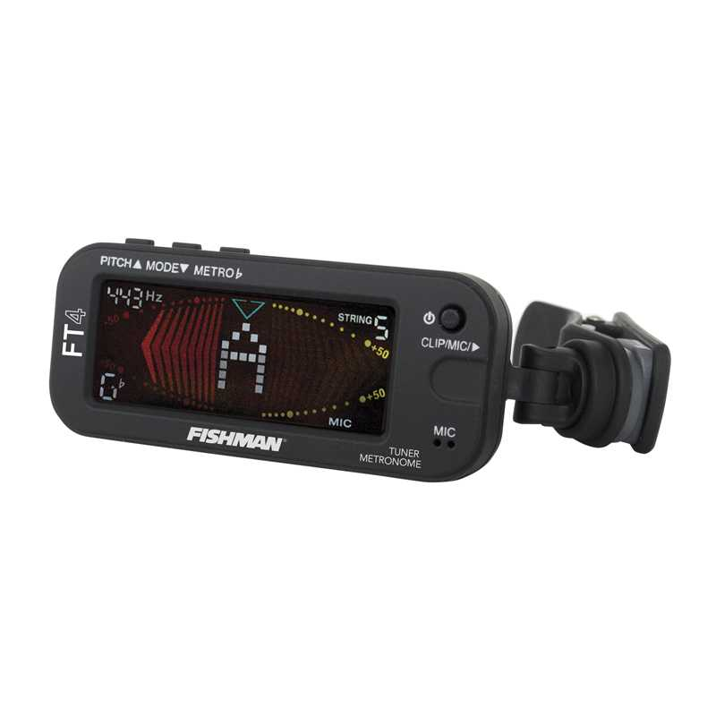 Fishman FT-4 Clip-On Tuner & Visual Metronome