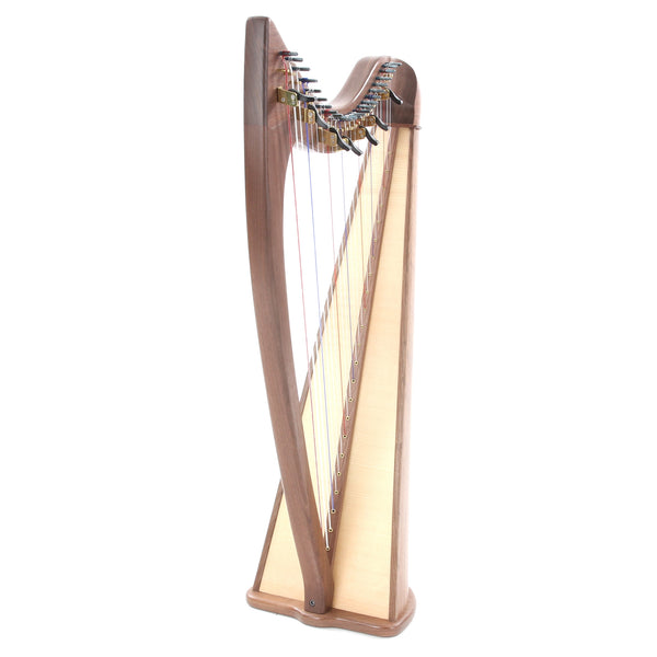 Noteworthy County Kerry 24-String Walnut Harp & Bag