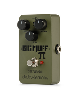 Electro Harmonix Green Russian Big Muff Distortion / Sustainer Pedal