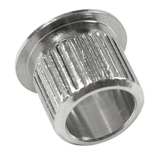 Nickel-Plated Press-Fit Slip-On Tuner Bushing