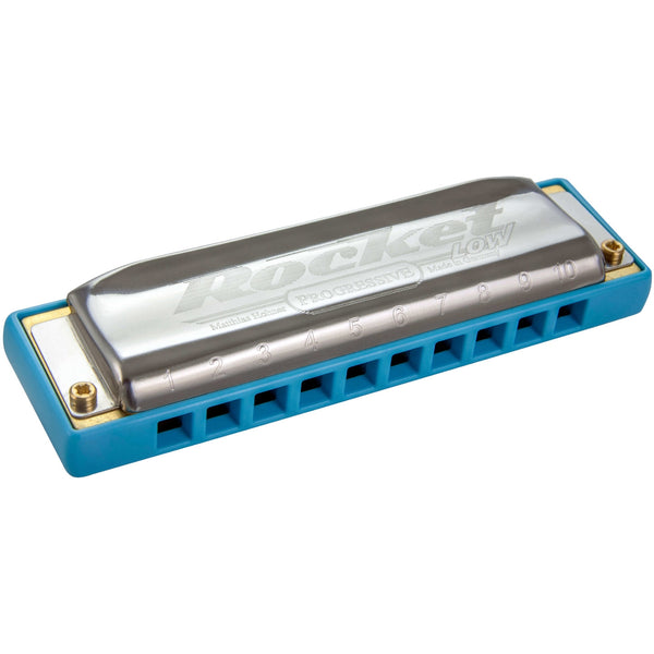 Hohner M2016 Rocket Low Harmonica, Key of Low C