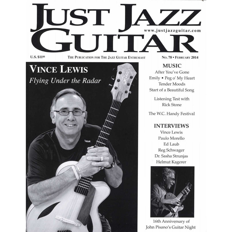 Just Jazz Guitar No. 78 February 2014